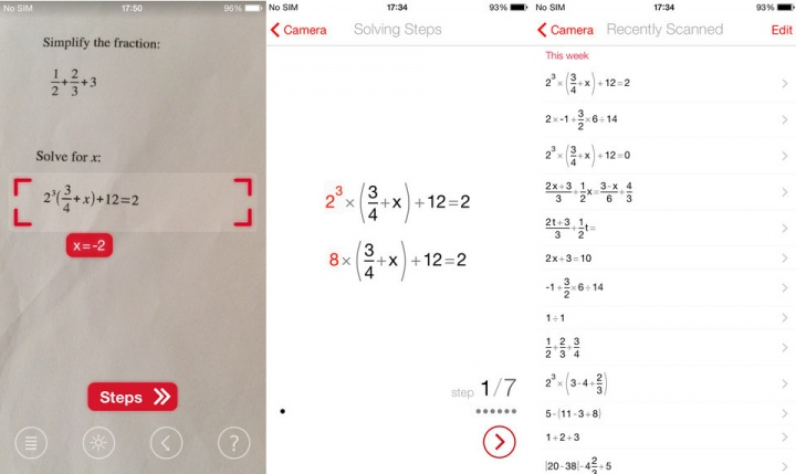 Imagen - PhotoMath: resuelve operaciones matemáticas con tu cámara