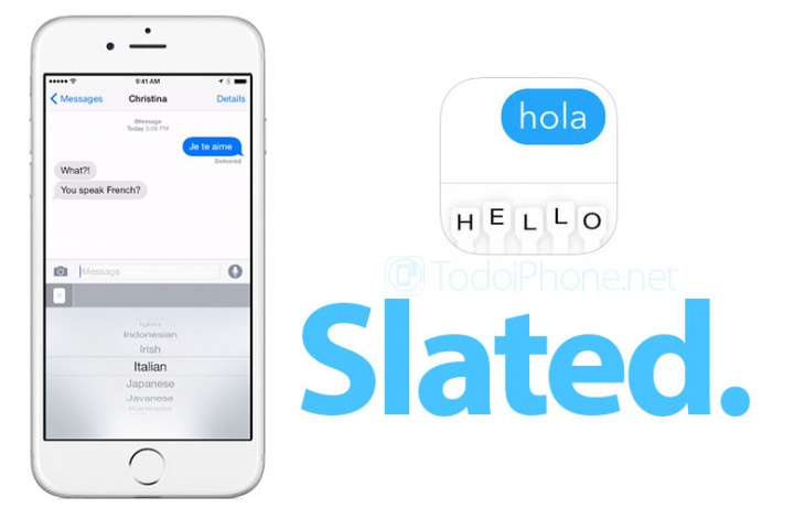 Slated: el teclado que traduce en tiempo real para iOS 8