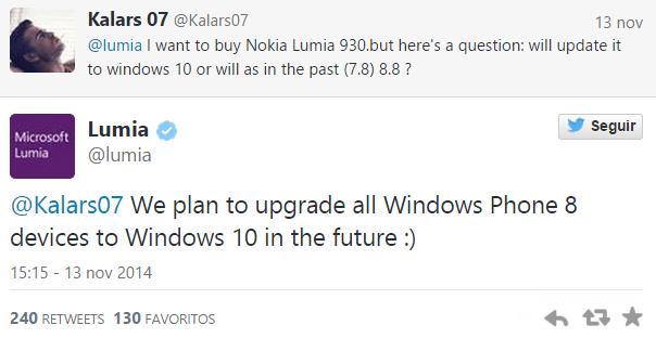 Imagen - Windows Phone 10 se podrá usar en todos los smartphones con Windows Phone 8