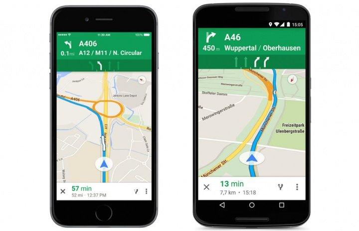 Imagen - Google Maps evitará que te equivoques de carril