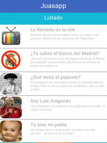 Imagen - Juasapp, la app para gastar bromas telefónicas
