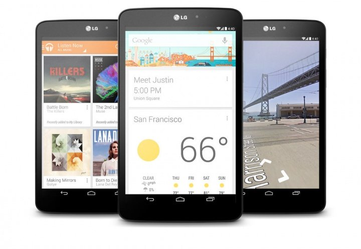 LG G Pad 8.3 Google Play Edition se actualiza a Android 5.0 Lollipop