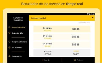Imagen - Comprobar lotería de Navidad 2014 en Internet