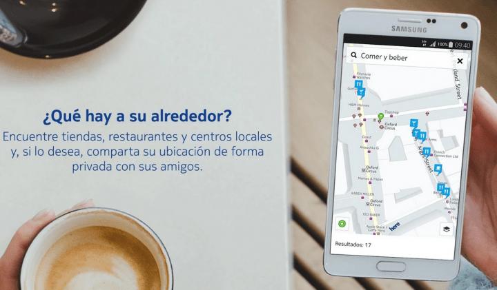 Imagen - Descargar ya Nokia HERE para Android en Google Play