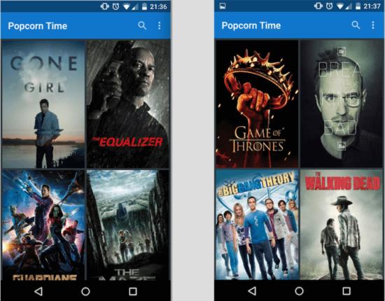 Imagen - Descarga Popcorn Time para Android