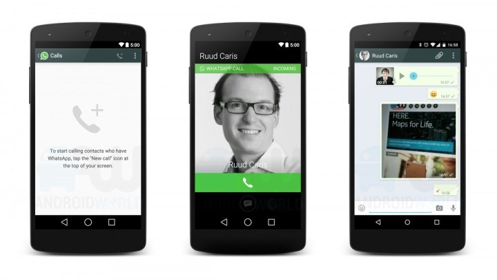WhatsApp podría incorporar las llamadas a través de Skype