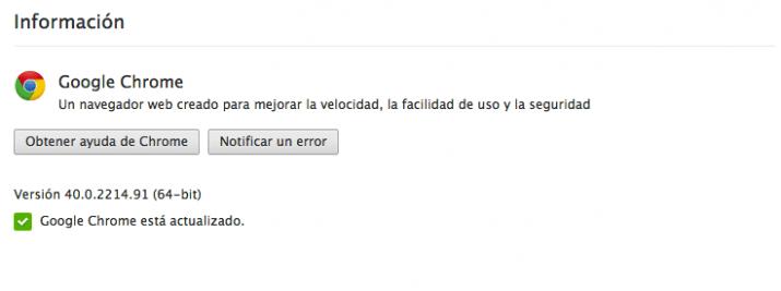 Google Chrome 41 ya está disponible para descargar