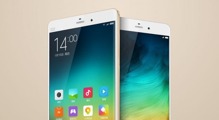 Xiaomi presenta los Mi Note y Mi Note Pro