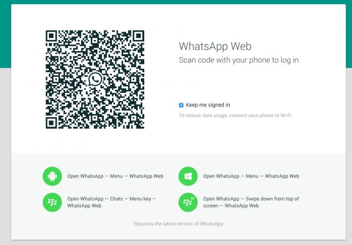 Imagen - WhatsApp Web ya está disponible en el ordenador