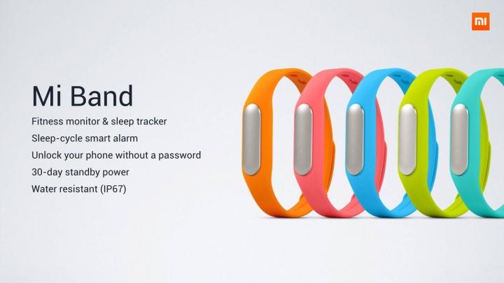 Xiaomi Mi Band 2 tendría una pantalla táctil
