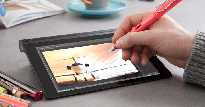 Lenovo YOGA Tablet 2, el nuevo tablet que acepta como stylus cualquier bolígrafo