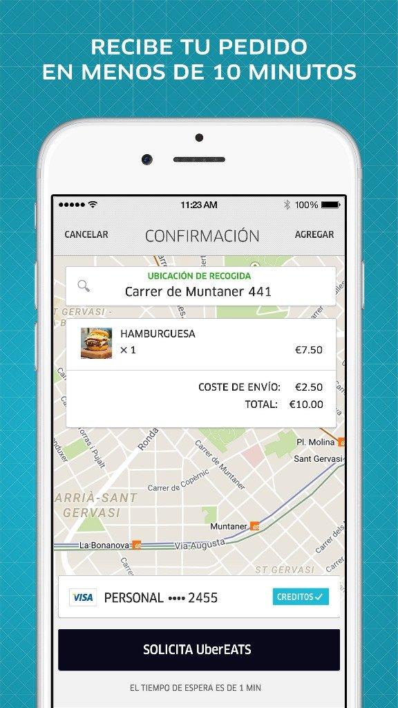 Imagen - UberEATS, el nuevo servicio de comida a domicilio