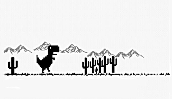 Dino Run - Dinosty, el juego oculto sin conexión de Chrome disponible en Google Play