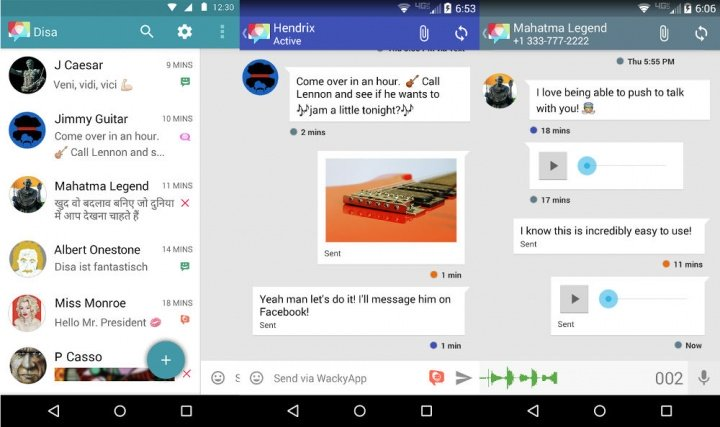 Imagen - Disa une en una sola app a los SMS, WhatsApp, Telegram y Facebook
