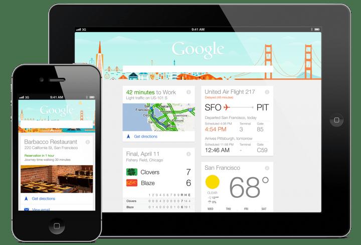 Google Now ya funciona offline