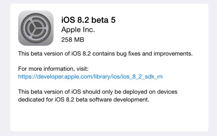 Imagen - iOS 8.2 llegará en marzo para añadir compatibilidad con el Apple Watch