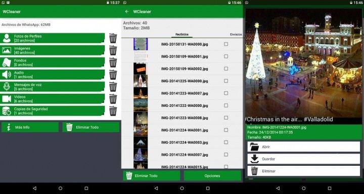 Imagen - Libera espacio de WhatsApp con WCleaner