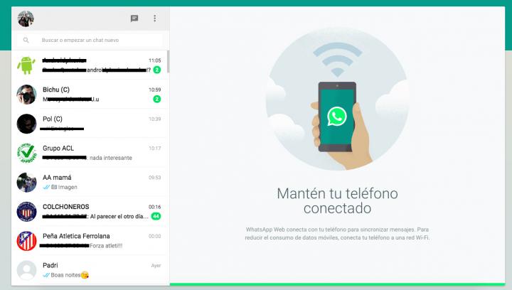 WhatsApp Web ya está disponible en el ordenador