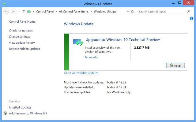 Imagen - Windows 10 Technical Preview Build 10061 ya disponible para descargar