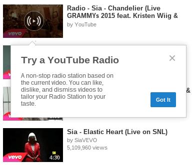 Imagen - YouTube Radio, el nuevo servicio de música ya está en pruebas