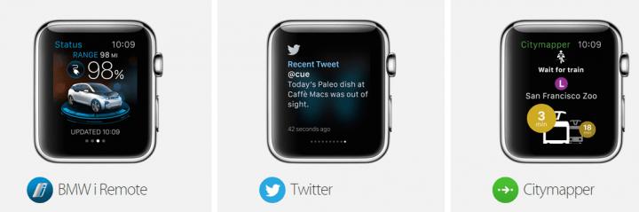 Imagen - Las 37 primeras apps para el Apple Watch