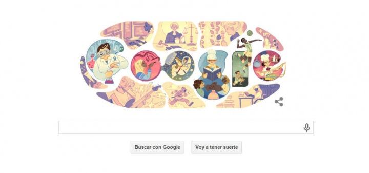 Imagen - Google celebra el Día Internacional de La Mujer con un Doodle en 2015