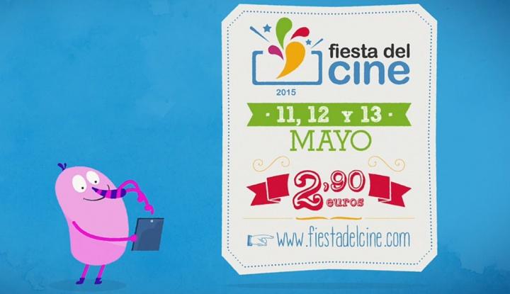 Consigue por 2,90 euros tu entrada en la Fiesta del Cine los días 11, 12 y 13 de mayo
