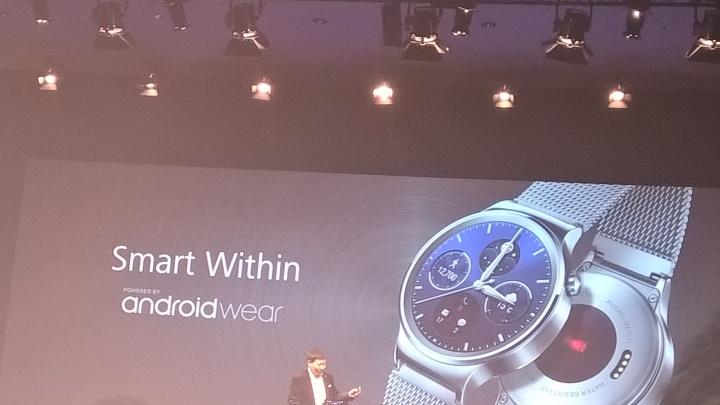 Imagen - Huawei Watch es oficial: un elegante smartwatch de acero con Android Wear