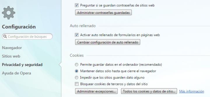 Imagen - Cómo eliminar las cookies del navegador