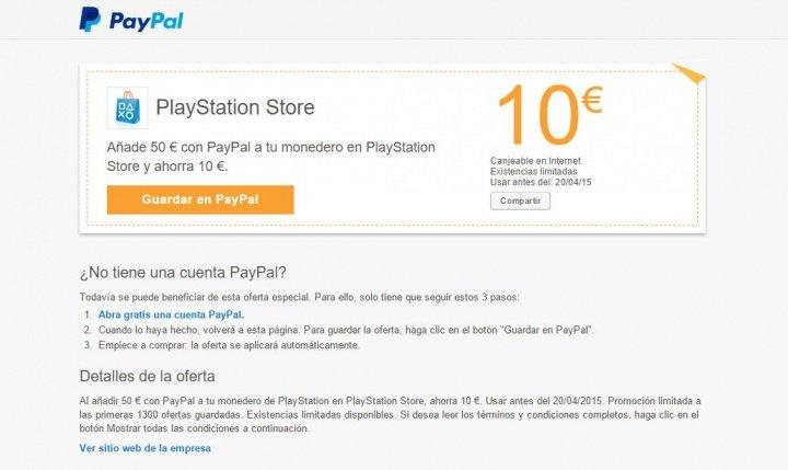 Imagen - Consigue 10 euros gratis en PlayStation Store