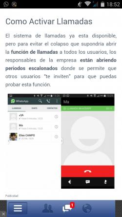 """Imagen - """"Activar Llamadas Whatsapp"""", una falsa app para activar las llamadas"""