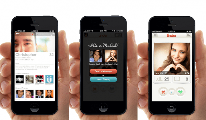 Tinder permitirá saber que gente de tu Facebook está en la app