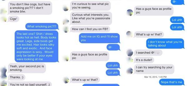 Imagen - Hackean Tinder y cambian el sexo a los hombres: la broma que genera el caos