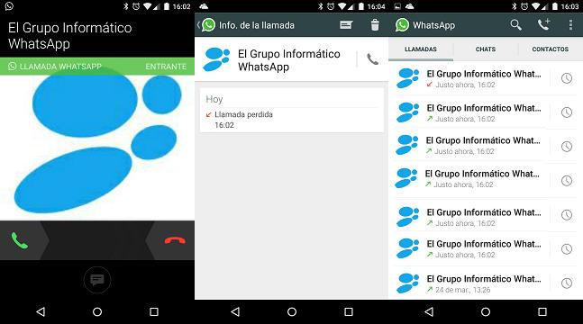 Imagen - Las llamadas de WhatsApp ya disponibles para todos sin invitación