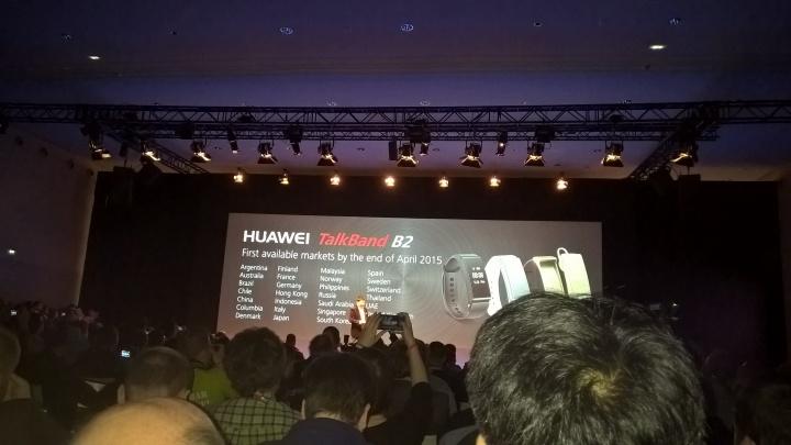 Imagen - Huawei TalkBand B2 y TalkBand N1 presentados oficialmente en el MWC 2015