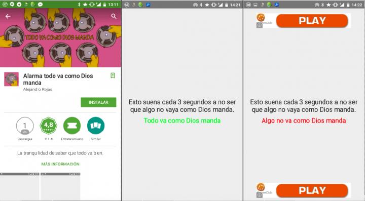 """Imagen - Alarma todo va como Dios manda, nueva app """"top"""" de las redes sociales"""