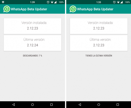 Imagen - Beta Updater para WhatsApp, instala la última beta de WhatsApp en Android