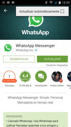 Imagen - Cómo desactivar las llamadas de WhatsApp