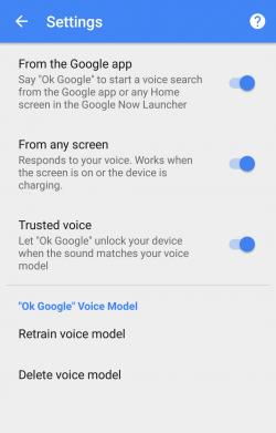Imagen - Android ya permite desbloquear el terminal con la voz