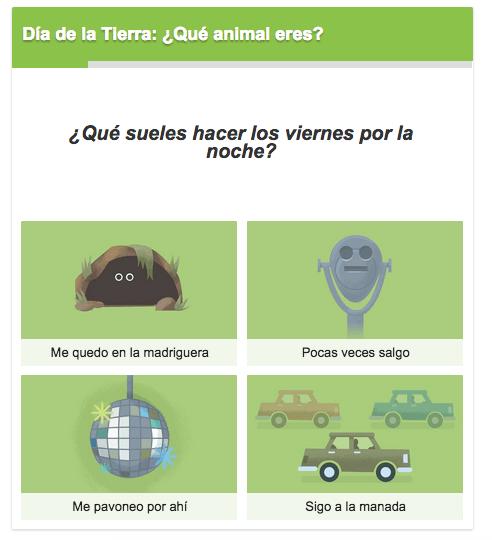 Imagen - Cuestionario del Día de la Tierra, descubre qué animal eres