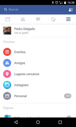Imagen - Facebook añade una pestaña de Instagram