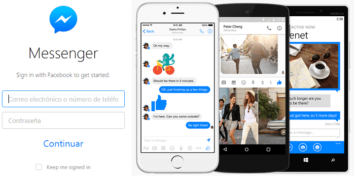 Cómo chatear en Facebook Messenger desde Windows o Mac