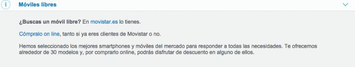 Imagen - Movistar financiará móviles libres a no clientes
