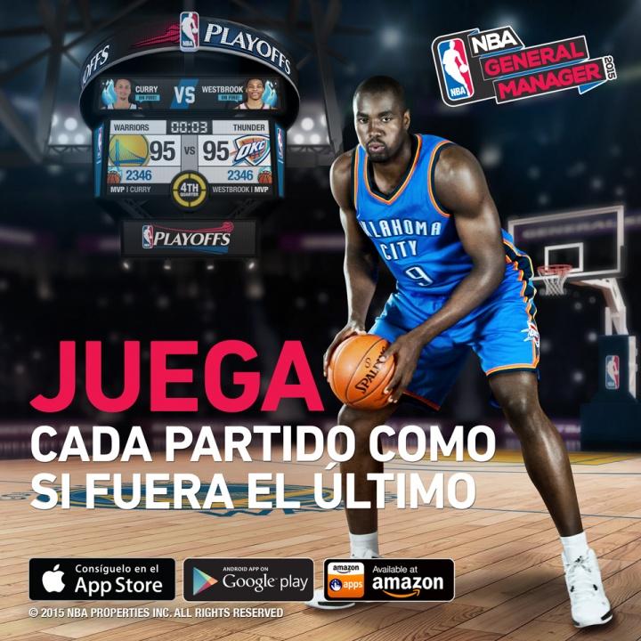 Imagen - NBA General Manager 2015, el manager oficial de la NBA disponible para iOS y Android