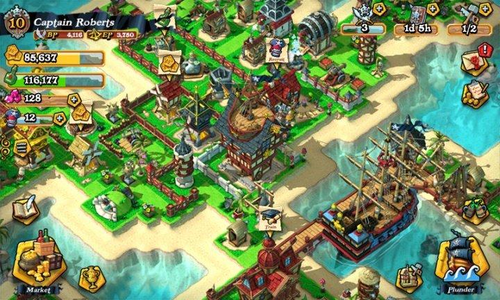 Imagen - Descarga Plunder Pirates, el Clash of Clans de los creadores de Angry Birds
