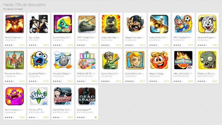 Imagen - Google Play rebaja a un precio ridículo algunos de los juegos más populares