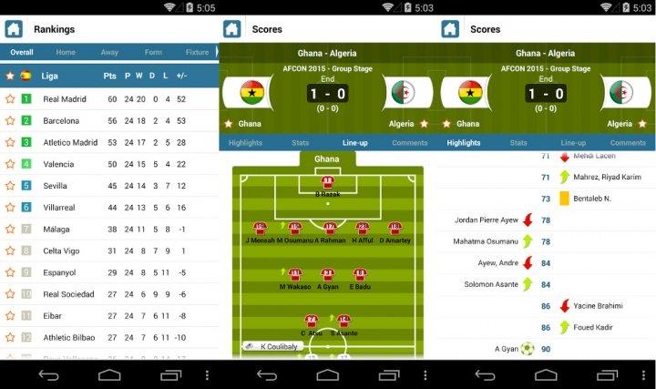 Imagen - SportyTrader, la app para seguir resultados en directo de fútbol, tenis o baloncesto