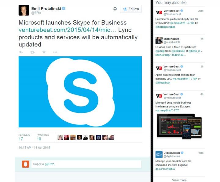 Imagen - Twitter añadirá una nueva columna de tweets relacionados