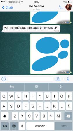 Imagen - Las llamadas de WhatsApp ya disponibles en iPhone: ¡te activamos las llamadas VoIP!