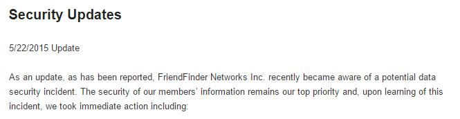 Imagen - Hackean los datos de casi 4 millones de usuarios de Adult FriendFinder